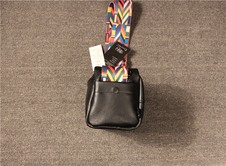 Casual Colorful Strap Square Crossbody Bags