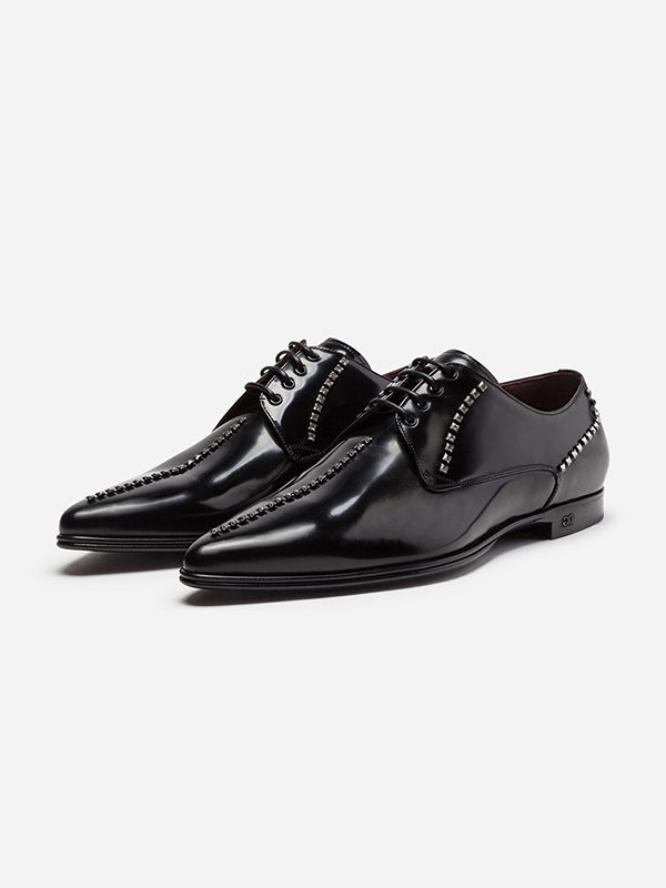 Men Low-Cut Upper Laced PU Shoes
