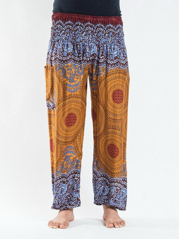 Men Print Loose Harem Pants