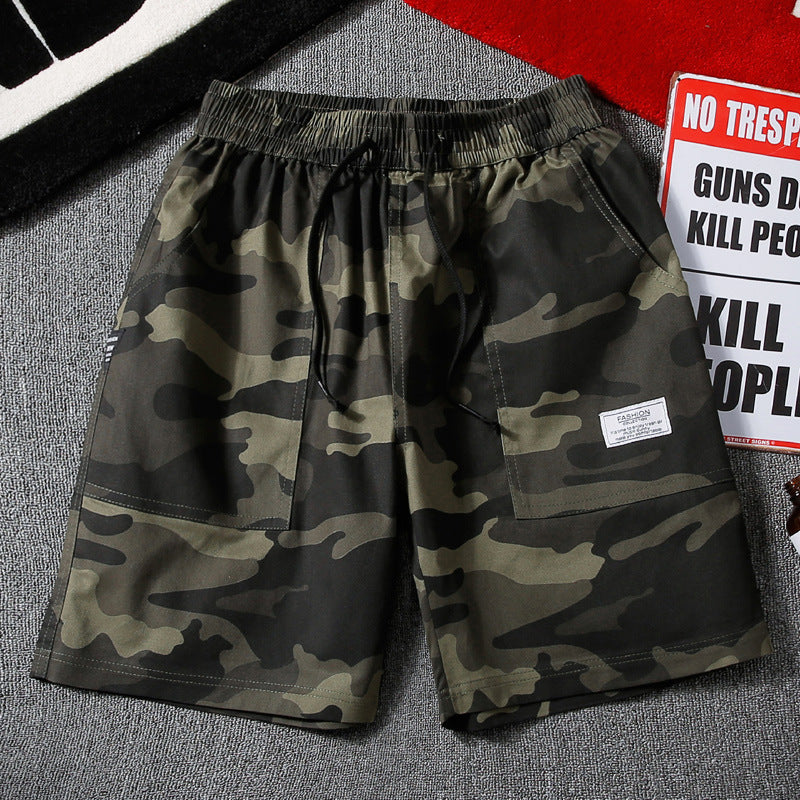 Men's Casual Loose Camouflage Shorts