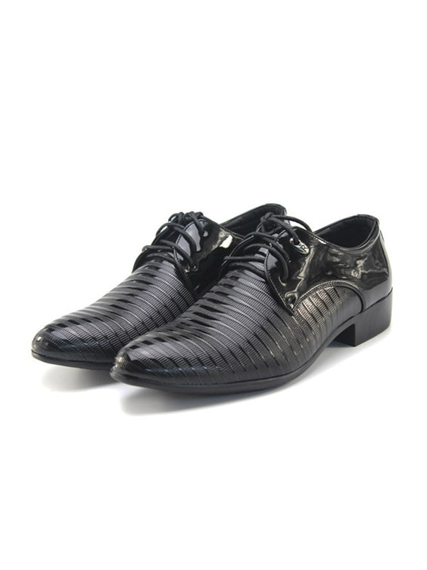 Men Pure Low-Cut Upper PU Shoes