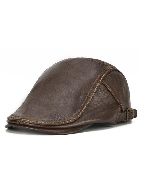 Men Outdoor Beret Hat Casual Adjustable Cap
