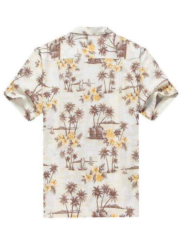 Men Casual Floral Printed Shirt