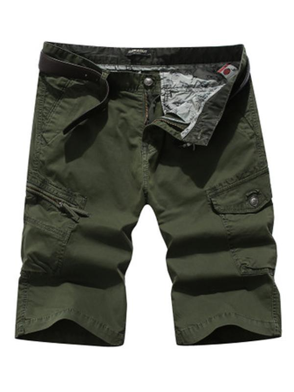 Mens Summer Casual Solid Short Bottom