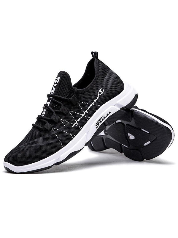 Men Casual Lace-Up Athletic Shoes