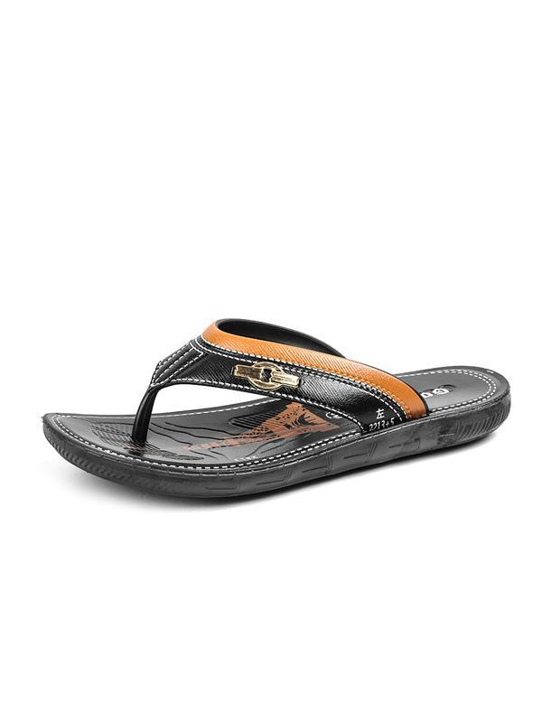 Men Casual  Breathable Flat Flip-flops Sandal