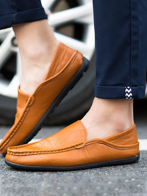 Men Casual Slip-On Loafers Shoes