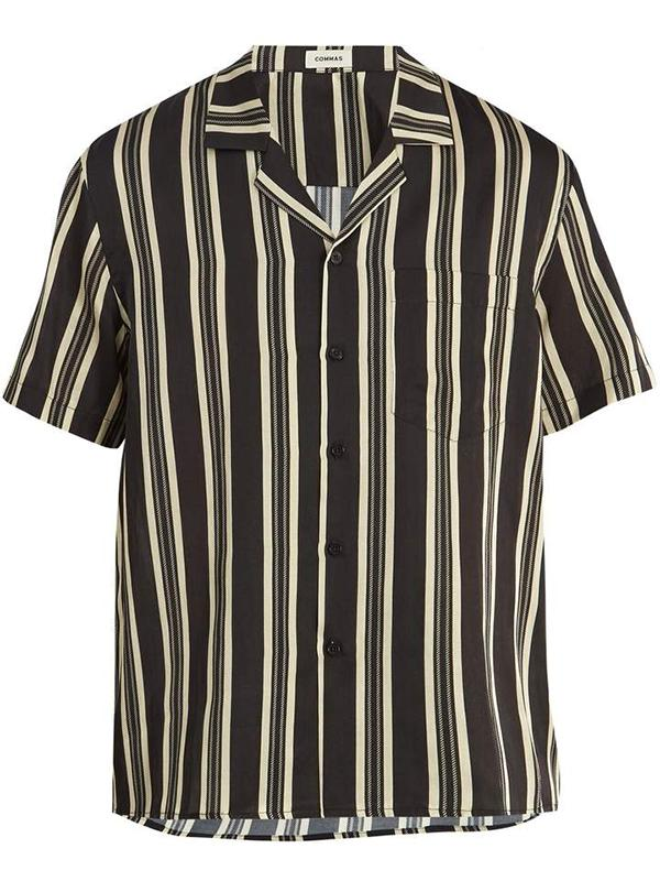 Casual Striped Short Sleeves Shirts