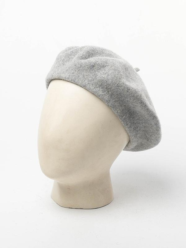 Solid Wool Warm Casual Beret Hat