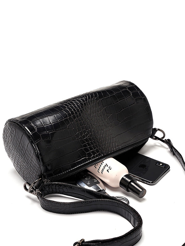 Crocodile Printed Crossbody Bags