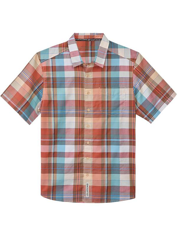 Men Vintage Plaid Casual Shirt
