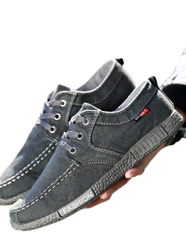 Breathable Denim Casual Shoes