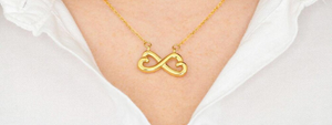 Infinity Heart Pendant Product Video