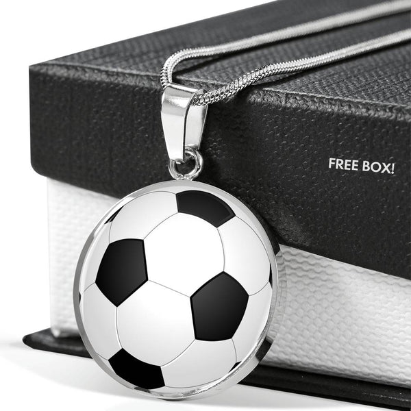 Soccer Dreams Charm Necklace