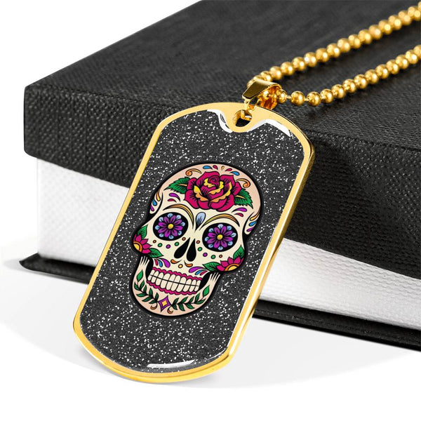 Dog Tag - Day of the Dead #1