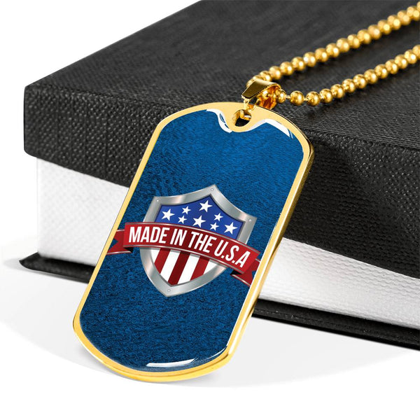 Dog Tag - Made in the USA #1