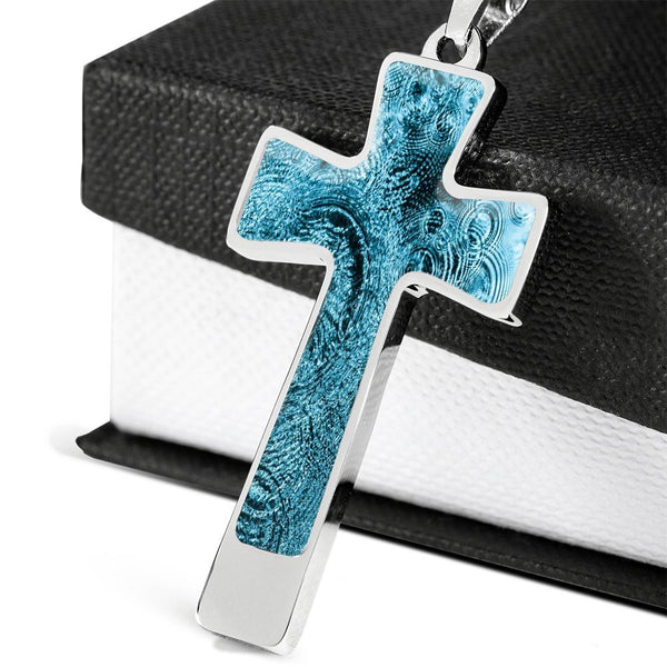 Cross Pendant Necklace - One the Water