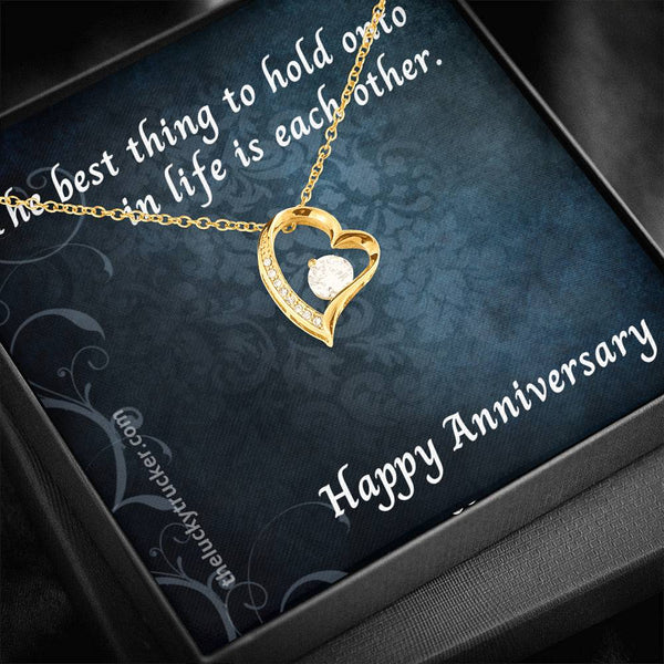 #3 Happy Anniversary Gift Set with Forever Heart Necklace