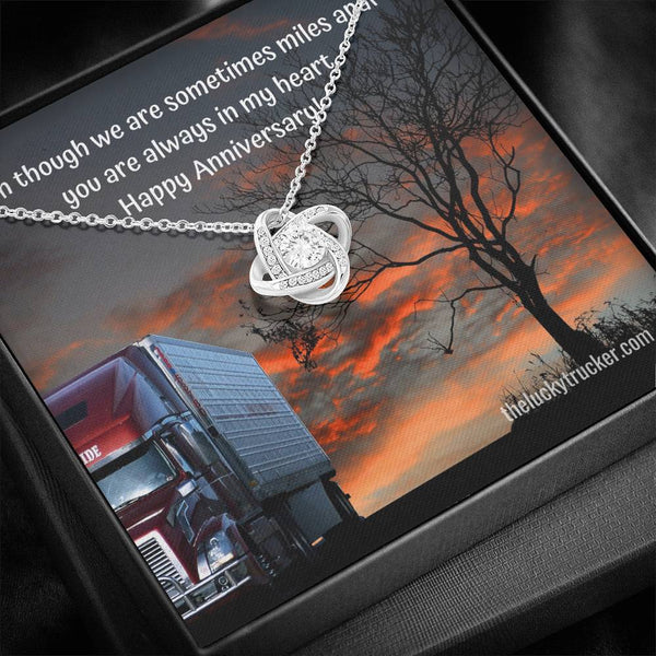 #2 Happy Anniversary Gift Set with Love Knot Necklace