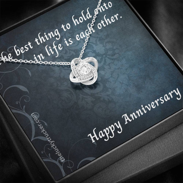 #3 Happy Anniversary Gift Set with Love Knot Necklace