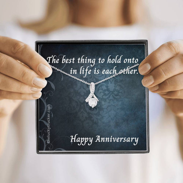 #3 Happy Anniversary Gift Set with Alluring Beauty Necklace