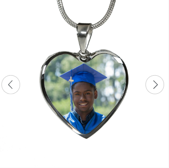 Heart Pendant with Photo
