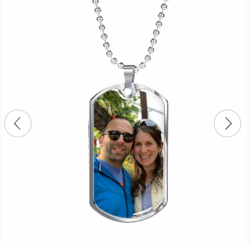 #1 Personalized Photo Dog Tag