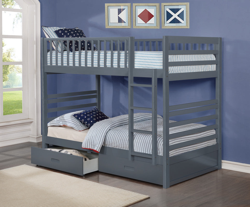 Emma Bunk Bed - Grey