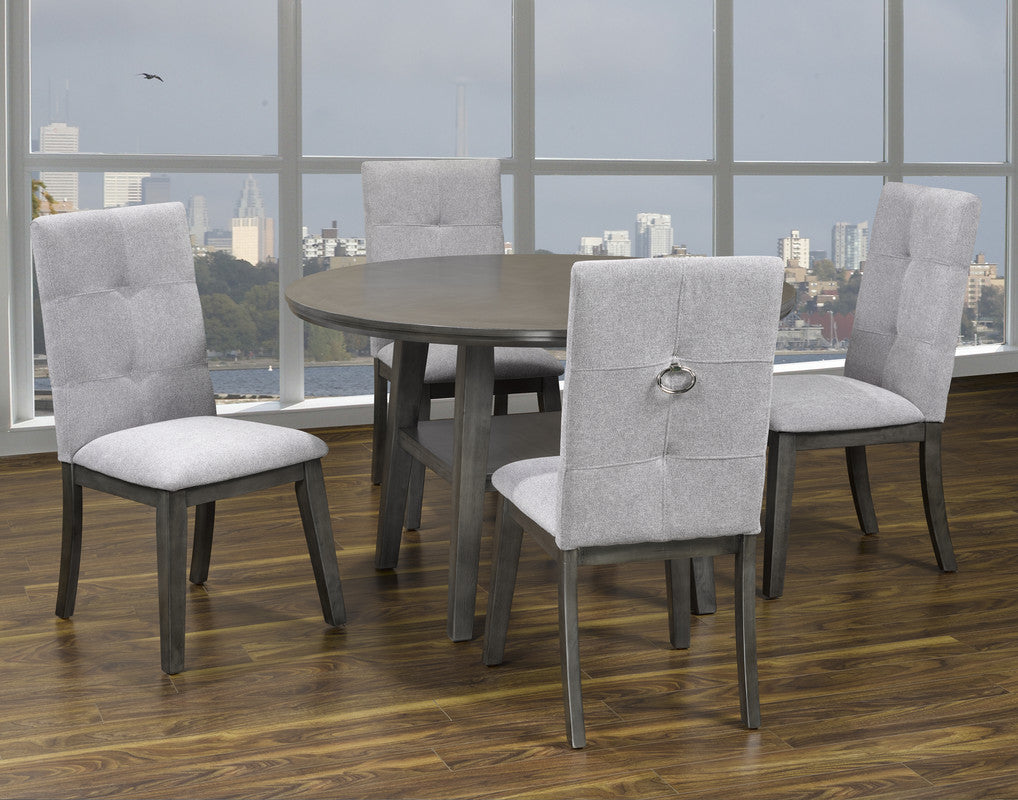 Sandra Dining Series (Round Table w/ 4 chairs)