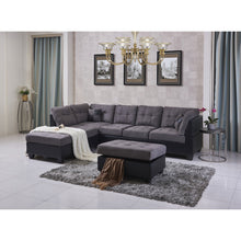 Load image into Gallery viewer, Eva Sectional Sofa with Ottoman