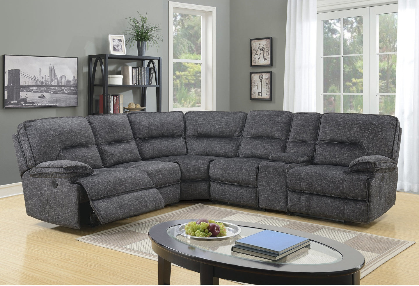 Maryland Sectional power motion recliner series
