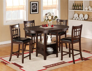 Cayman Dining Set(Table W/ 4 Chairs)