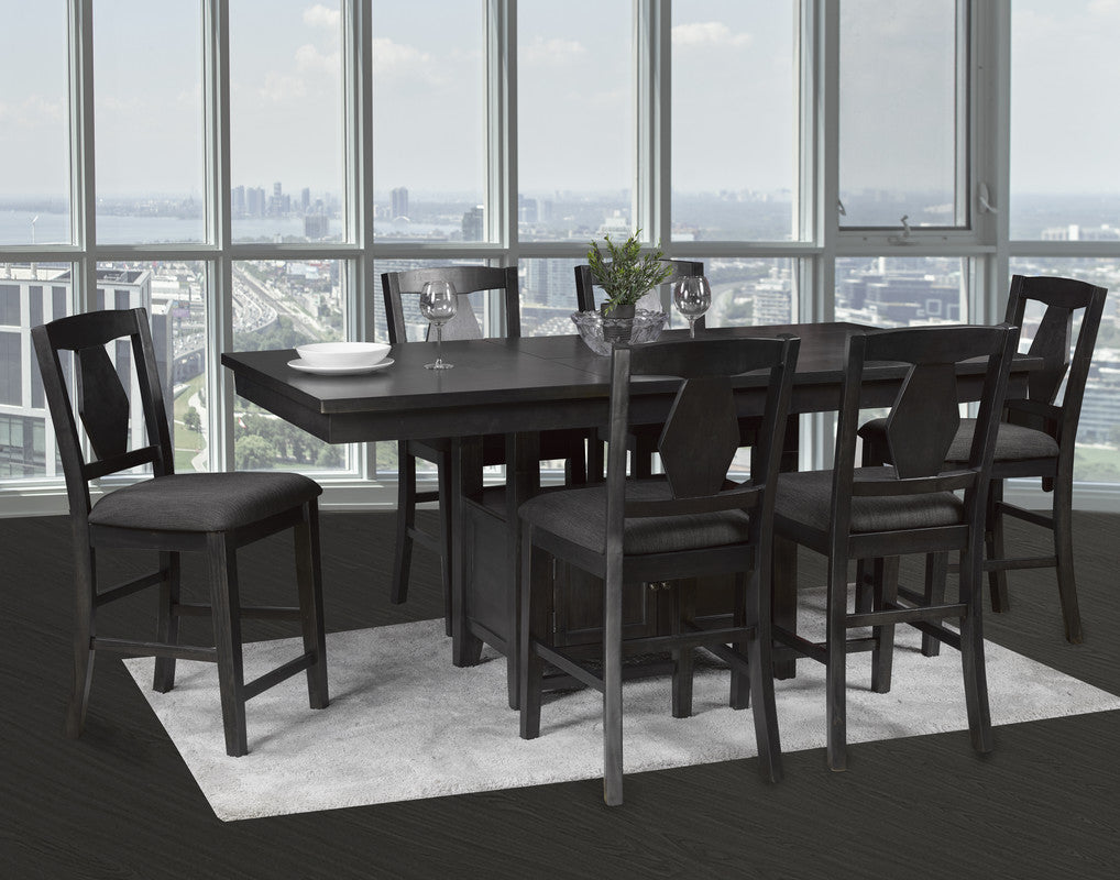 Violet Dining Set(Table W/6 Chairs)