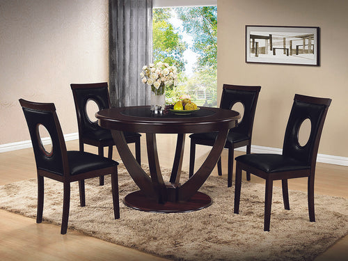 Celine Dining Set(TABLE W/4 CHAIRS)