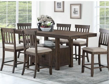Load image into Gallery viewer, Alexander Counter Series 7-Piece Dining Set