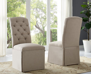 Sienna Tufted Dining Chair, Set of 2