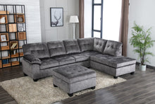 Load image into Gallery viewer, Ashley Sectional Sofa with Ottoman