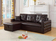 Load image into Gallery viewer, Roxy Sectional Pullout Sofabed