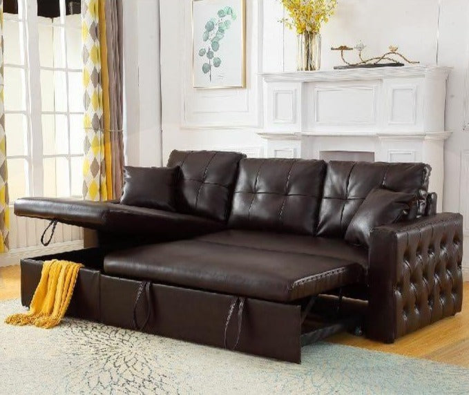 Roxy Sectional Pullout Sofabed