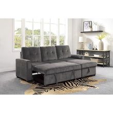 Load image into Gallery viewer, Carolina Series Reversible Sectional Sleeper - Grey