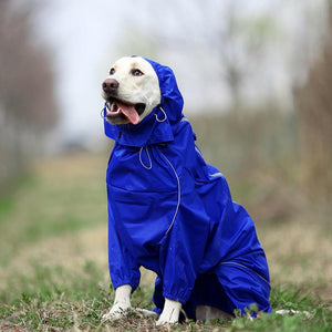 Pet Reflective Raincoat