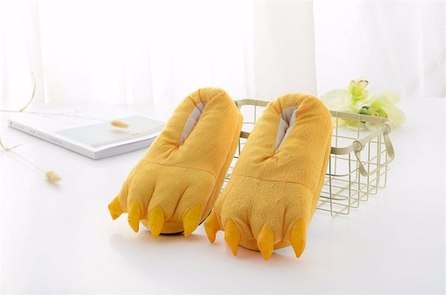 Yellow Animal Slippers - Onesiemania