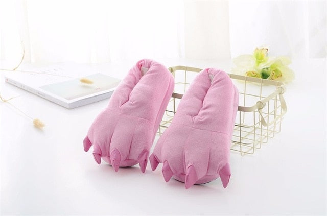 Pink Animal Slippers - Onesiemania