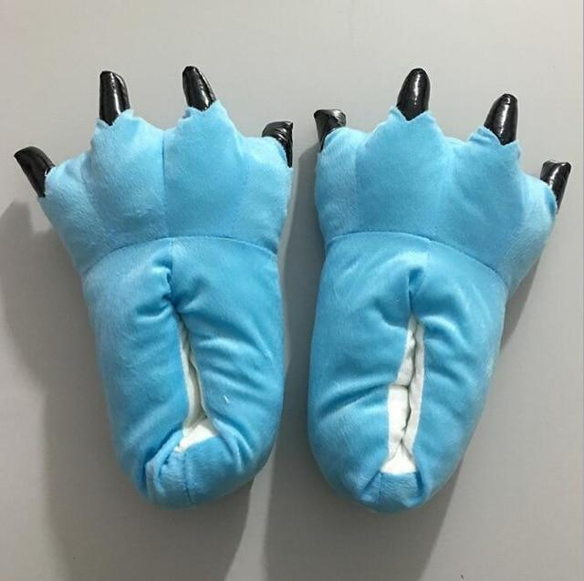 Blue Animal Slippers - Onesiemania