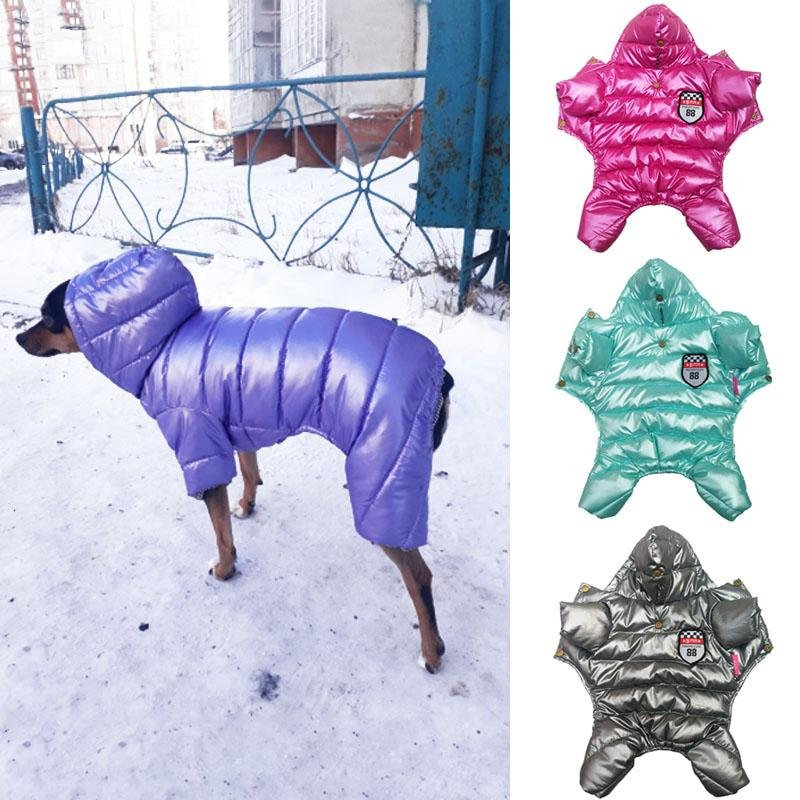 Pet Winter Onesies