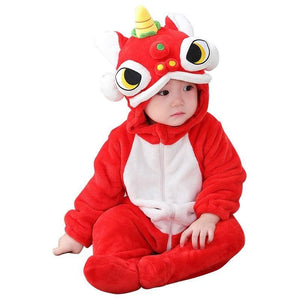Chinese Dragon Onesie