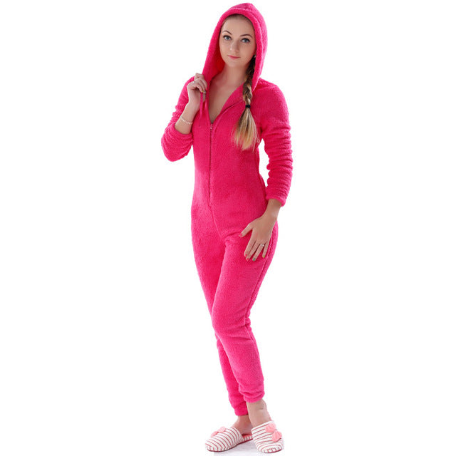 Warm Fleece Onesie - Onesiemania