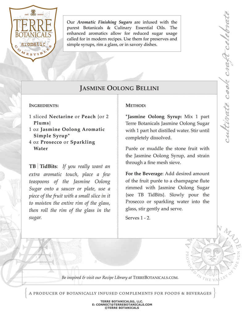 Jasmine Oolong Bellini
