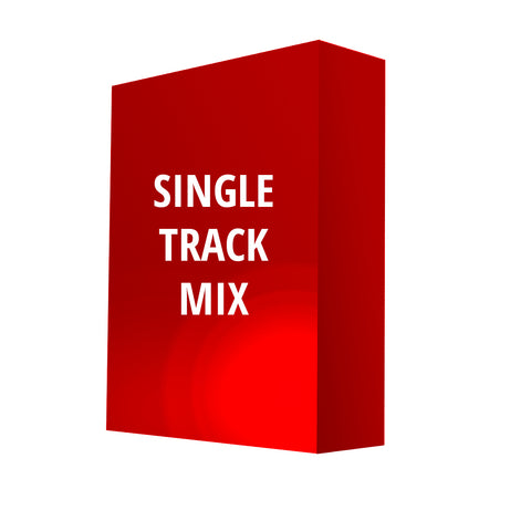 Single Track Mixing (Mastering Included)