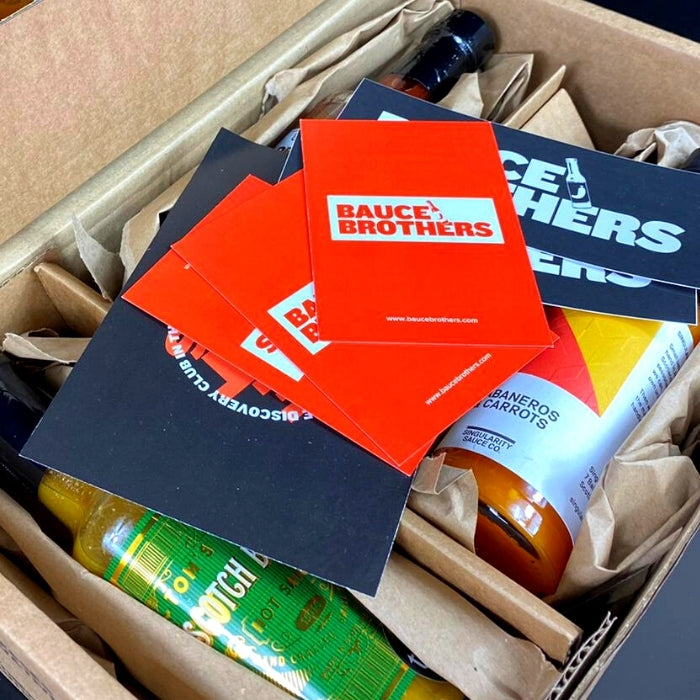 UK Hot Sauce Gift Box